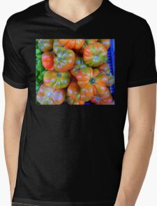 Tomatoes From Majorca Mens V-Neck T-Shirt
