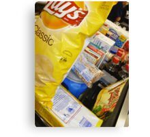 01-14-11 Groceries. Canvas Print