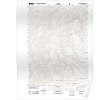 USGS Topo Map Oregon Rasler Creek 20110713 TM Poster