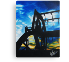 Harvest Sunset Canvas Print