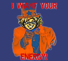 Uncle Goku Needs your Energy, Together We can Beat Buu! Unisex T-Shirt