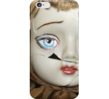 Emily forlorn: damaged porcelain doll, repaint iPhone Case/Skin