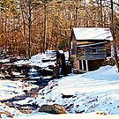 Old Grist Mill in Clarkesville by Chelei
