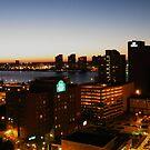 Windsor/Detroit Skyline at Sunset II by Graham Beatty