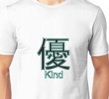 KIND KANJI  Unisex T-Shirt