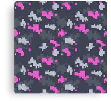CSGO | Pink DDPAT Camo Canvas Print