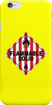 Flammable Solid by Rupert  Russell