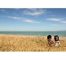 Tama, Moana & Rangi hit Coro Photographic Print