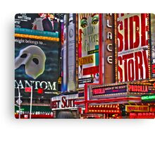 NYC Signs Canvas Print
