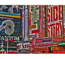 NYC Signs Photographic Print