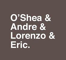 O'Shea & Andre & Lorenzo & Eric NWA T-Shirt Unisex T-Shirt