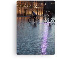 Riders sans Storm Canvas Print