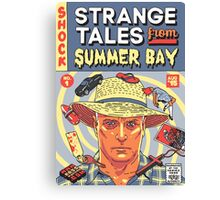 Strange Tales from Summer Bay Canvas Print