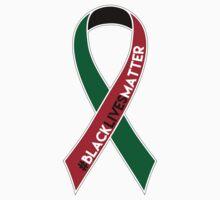 Black Lives Matter Awareness Ribbon Kids Tee