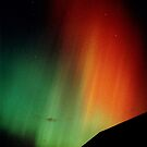 Intense aurora over Musselburgh by Phoenix-Appeal
