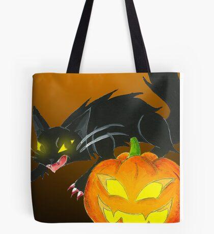 Spooky Duo Tote Bag