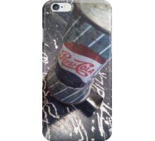 Old school pepsi cola iPhone Case/Skin