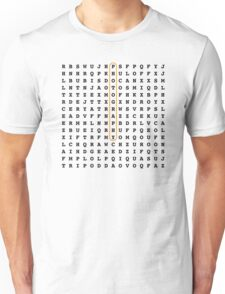 Photographer Word Search Puzzle Unisex T-Shirt