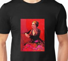 The Gypsy Skirt, oil painting on stretched canvas Unisex T-Shirt