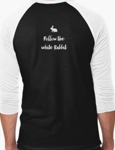 Follow the white rabbit Men's Baseball ¾ T-Shirt