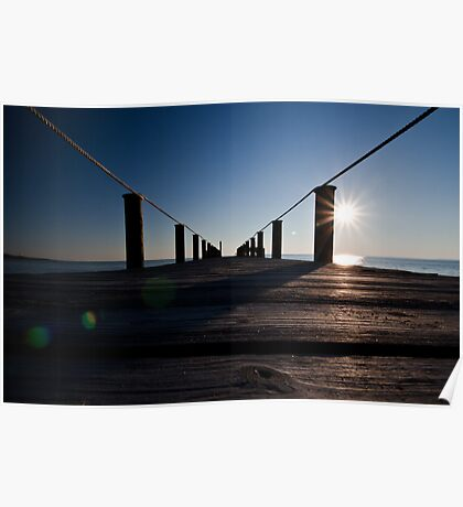 Currituck Sunset Poster