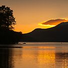 Sunset at Loch Tay by Cliff Williams