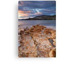 Rocks at Blackmans Bay #3 Canvas Print