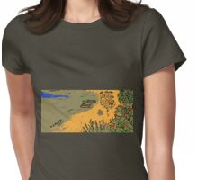 La spiaggia Womens Fitted T-Shirt