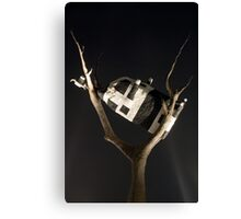 Cow In Tree Canvas Print