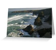 National Trust at Bedruthan Steps Greeting Card