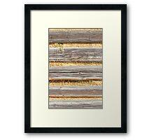 Winter Forage Framed Print