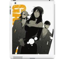 Gangsta Anime iPad Case/Skin