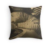 Windsor train station Throw Pillow