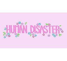 Human Disaster Photographic Print