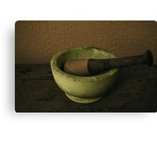 Pestle & Mortar Canvas Print