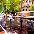 Melbourne Downpour by Craig Mitchell