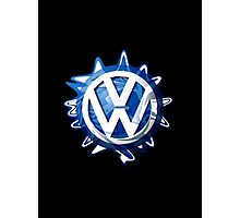 VW look-a-like logo  Photographic Print