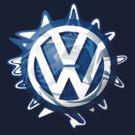 VW look-a-like logo  by melodyart