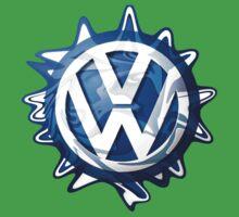 VW look-a-like logo  Baby Tee
