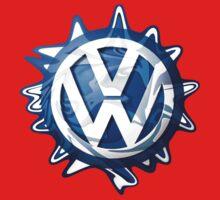 VW look-a-like logo  Kids Tee