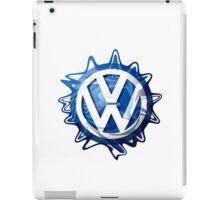 VW look-a-like logo  iPad Case/Skin