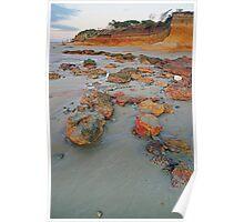 Anglesea Rocks Poster