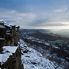 Curbar and Baslow Edge by Roy Childs