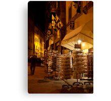 cityscapes #169, postcards Canvas Print