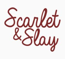 Scarlet and Slay by dosshainz