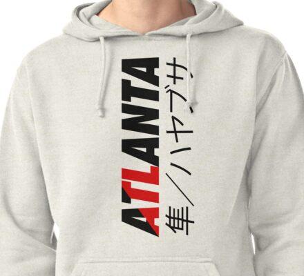 ATL Atlanta (Japanese Version) Pullover Hoodie
