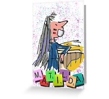 No Hate - Matilda the Musical Greeting Card