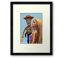 Woody by name............ Framed Print