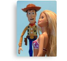 Woody by name............ Canvas Print