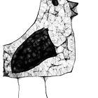 Scribbled Chick by Dawid Groenenstein